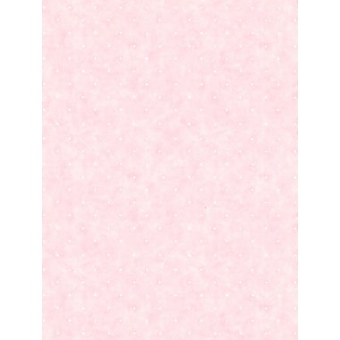Inspired By Color™ Pink & Purple Small Polka Dot Wallpaper, Pink