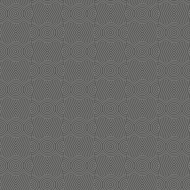 Inspired By Color™ Beige Target Block Wallpaper, Silver and Gray