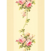 Inspired By Color™ Pink & Purple Rose Stripe Wallpaper, Beiges