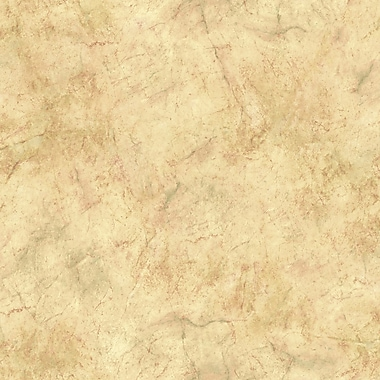 Inspired By Color™ Green Marble Wallpaper, Beige With green