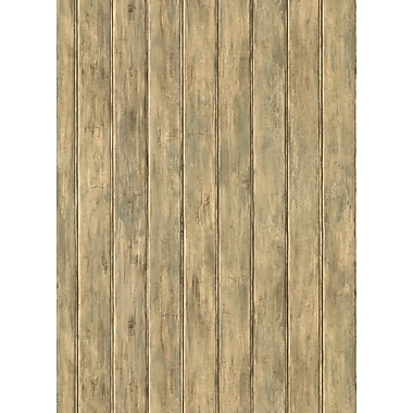 Inspired By Color™ Green Bead Board Wallpaper