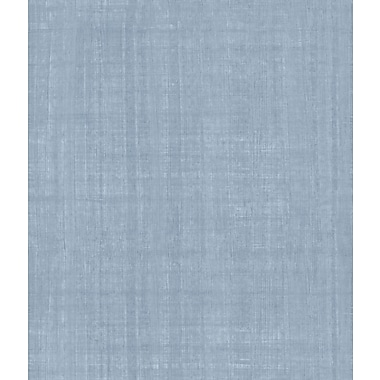 Inspired By Color™ Blue Handmade Paper Wallpaper, Blue