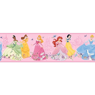 Inspired By Color™ Kids Dancing Princesses Borders