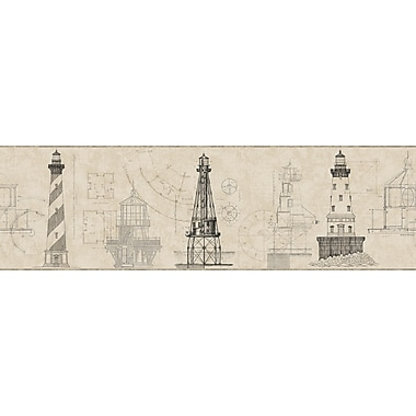 Inspired By Color™ Borders Architectural Lighthouse Borders