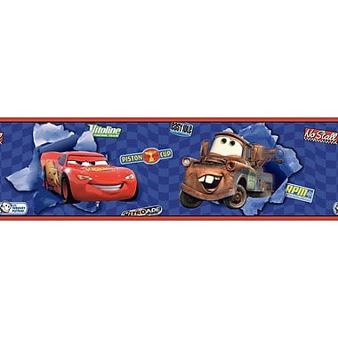 Inspired By Color™ Kids Cars Lightning and Matter Borders