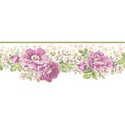 Inspired By Color™ Borders Victorian Garden Border, White With Off White