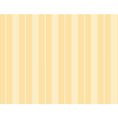 Inspired By Color™ Orange & Yellow Tailor Stripe Wallpaper, Yellow With White