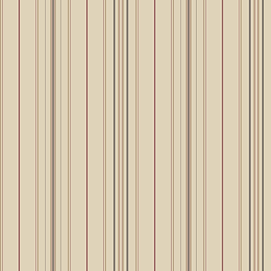 Inspired By Color™ Red Wide Pinstripe Wallpaper, Brown With Black