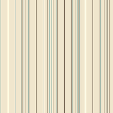 Inspired By Color™ Blue Wide Pinstripe Wallpaper, Brown With Blue/Green
