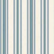 Inspired By Color™ Blue Multi Pinstripe Wallpaper, Beige With Blue