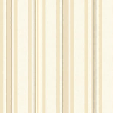 Inspired By Color™ Beige Multi Pinstripe Wallpaper, White With Beige