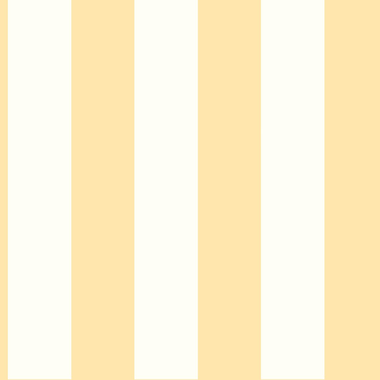 Inspired By Color™ Orange & Yellow 3 Stripe Wallpaper, Yellow With White
