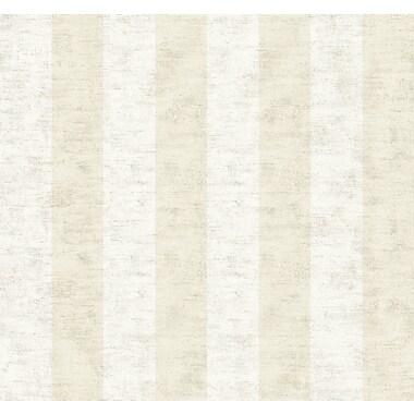 Inspired By Color™ Beige 3 Wide Stripe Wallpaper, Beige