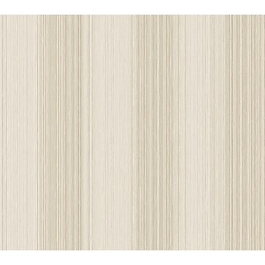 Inspired By Color™ Beige Multi Colored Textil Wallpaper, Gray With Pearl