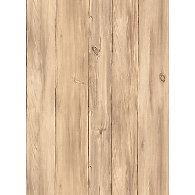 Inspired By Color™ Country & Lodge Barnboards Wallpaper, White