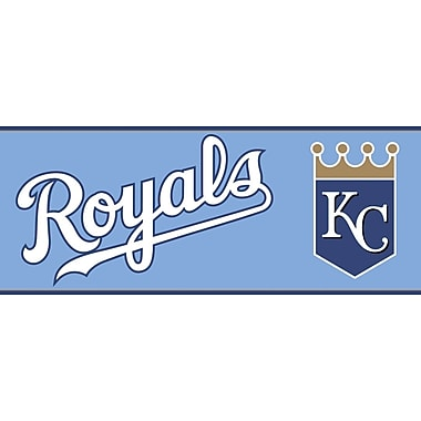 Inspired By Color™ Kids Kansas City Royals Border, Blue With White/Navy/Gold