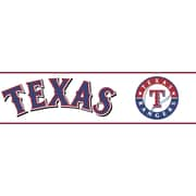 Inspired By Color™ Kids Texas Rangers Border, Off White With Navy/Red