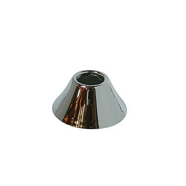 Elements of Design Solid Brass Decorative Bell Flange; Polished Chrome