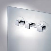Windisch by Nameeks Stand Mirrors Wall Mounted Bathroom Hook Rack; Chrome