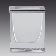 Windisch by Nameeks Complements Freestanding Square Cotton Pad Jar; White