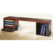 Empire Office Solutions Stack and Style Desktop Bookcase; Mahogany