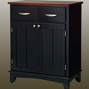 Home Styles Buffet; Black