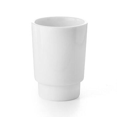 WS Bath Collections Napie Tumbler; White Porcelain
