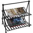 Pangaea Black Iron Magazine Rack