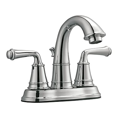Design House Eden Double Handle Centerset Bathroom Faucet I; Polished Chrome