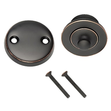 Design House 3.19'' Lift and Turn Tub Drain; Oil Rubbed Bronze