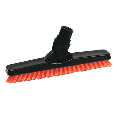 SYR Grout Brush BLK Bristles; Red