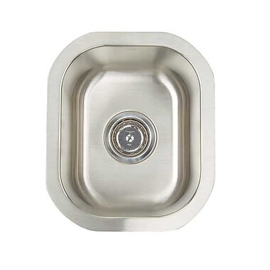 Artisan Sinks Premium Series 12.5'' x 14.75'' Undermount Single Bowl Bar Sink