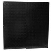 Wall Control Pegboard Panel (Set of 2); Black