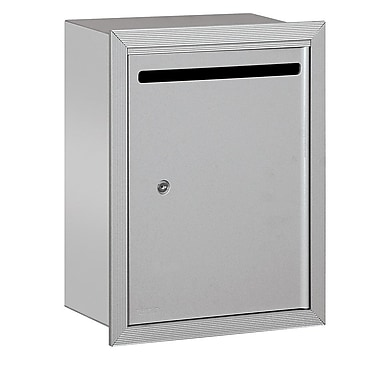 Salsbury Industries Aluminum 1 Unit Drop Box; Aluminum