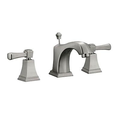 Design House Torino Wide Spread Double Handle Bathroom Faucet; Satin Nickel