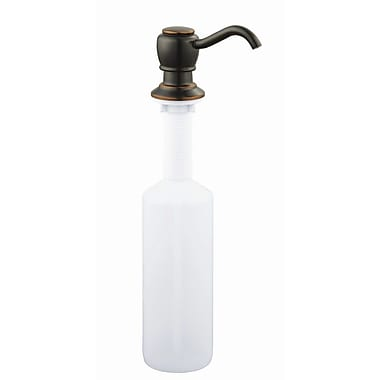 Design House Soap Dispenser; Oil Rubbed Bronze