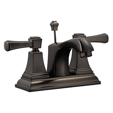 Design House Torino Centerset Bathroom Faucet; Brushed Bronze