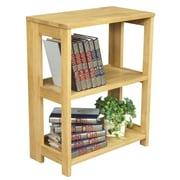 Regency Flip Flop 28'' Bookcase; Medium Oak