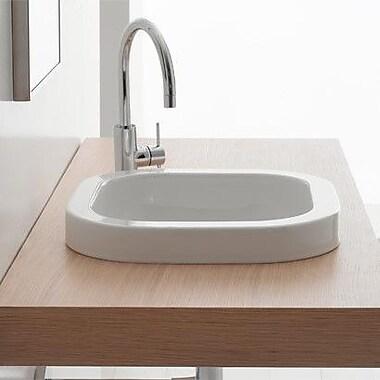 Scarabeo by Nameeks Next Built-In Bathroom Sink