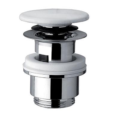 Bissonnet Universal Oversized 2.4'' Pop Up Bathroom Sink Drain w/ Overflow