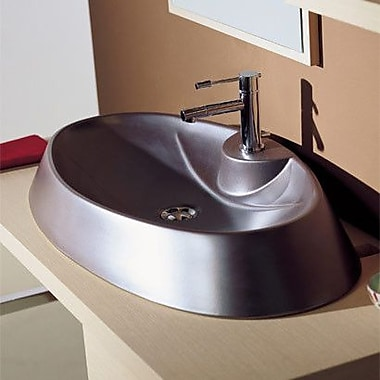 Scarabeo by Nameeks Rugby Above Counter Single Hole Bathroom Sink