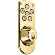 Kwikset Powerbolt Keyless Home Access System; Polished Brass