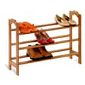 Honey Can Do 3 Tier Bamboo Shoe Rack