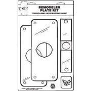 DON-JO MFG INC. Remodeler Plate Kit; Stainless Steel
