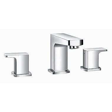 Artos Safire Widespread Bathroom Sink Faucet w/ Single Lever Handle; Brushed Nickel