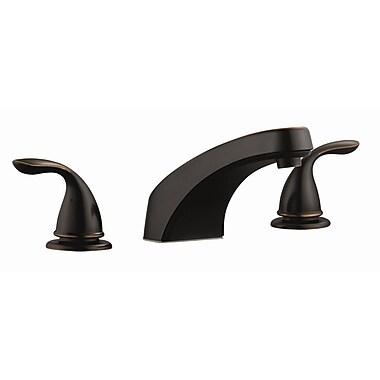 Design House Ashland Roman Double Handle Tub Faucet Trim; Oil Rubbed Bronze