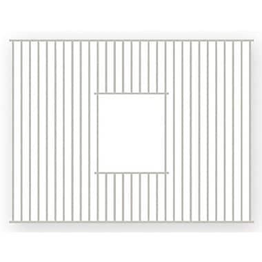 Whitehaus Collection Farmhaus Fireclay 22'' x 15'' Rectangular Sink Grid; Stainless Steel