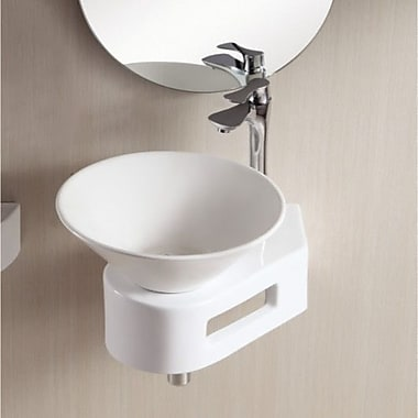 Caracalla Ceramica II Round Vessel Bathroom Sink