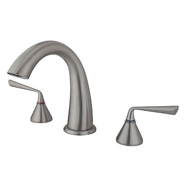 Elements of Design Copenhagen Roman Tub Filler; Satin Nickel