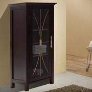 Elegant Home Fashions Delaney 15'' x 34'' Free Standing Cabinet